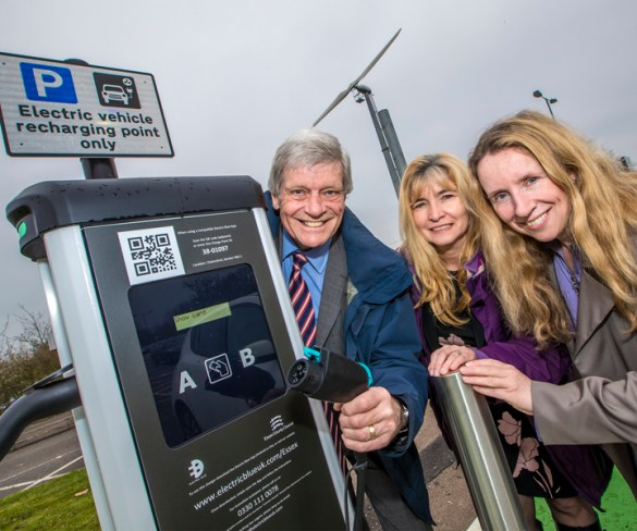 EV uptake encouraged in Essex with new charge points