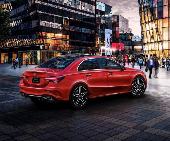 Mercedes-Benz A-Class Saloon due late 2018