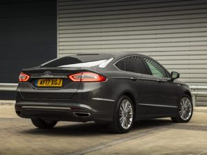 The hybrid petrol and electric Ford Mondeo will be the star of Business Week