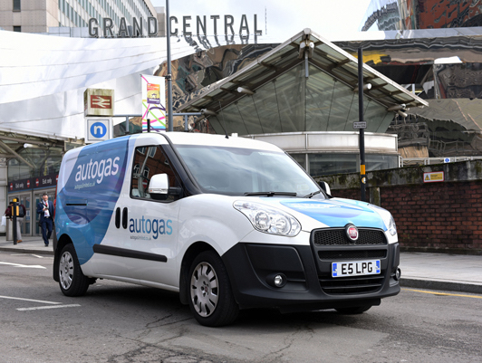 LPG vehicles available for free fleet trials