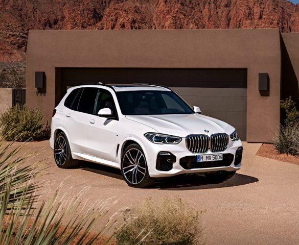 BMW reveals new X5 SUV