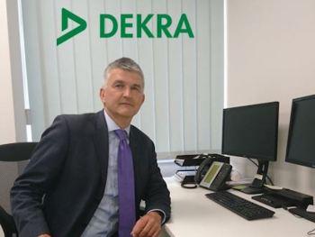 Paul Bradbury, MD of Dekra Automotive
