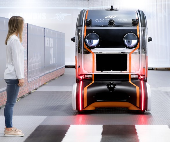 Jaguar Land Rover 'virtual eyes' could increase trust in autonomous cars