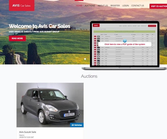 Avis UK launches bespoke portal for used car sales