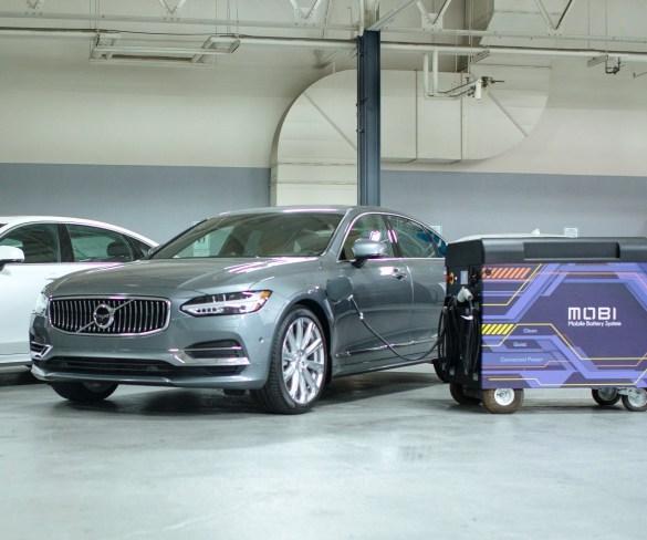 Volvo invests in mobile EV rapid charging startup