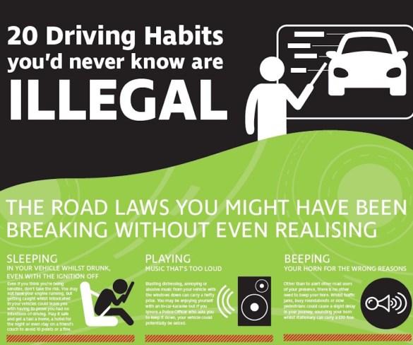 Teletrac guide raises awareness of illegal driving habits