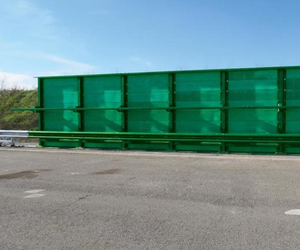 Noise and safety barrier tech to debut on M1
