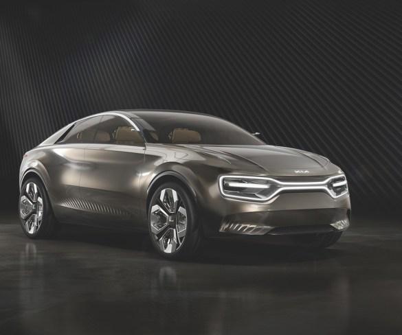 Kia concept shows plans for electric C-segment saloon