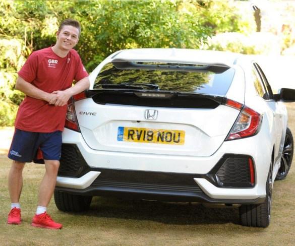 Honda UK boosts British Gymnastics with brand new cars