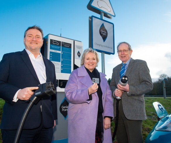 GeniePoint charging network rolls out in Home Counties