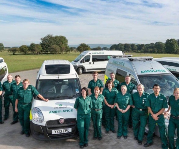 Ambulance service cuts accident claims with SmartCam system