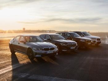 BMW plug-in hybrid range
