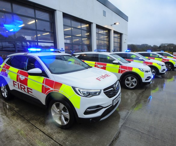 Cornwall Fire, Rescue and Community Safety Service opts for Vauxhall Grandland X