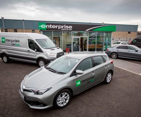 Enterprise launches car club in Belfast