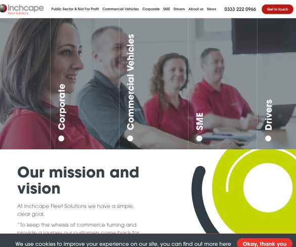 Inchcape Fleet Solutions goes live with new website