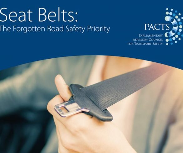 PACTS calls for penalty points for flouting seat belt law