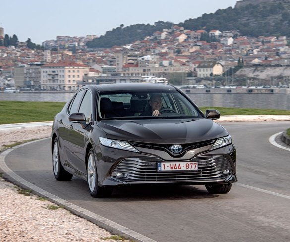 First Drive: Toyota Camry