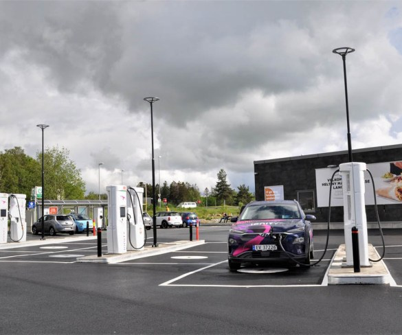 EV charge point locations outnumber petrol stations