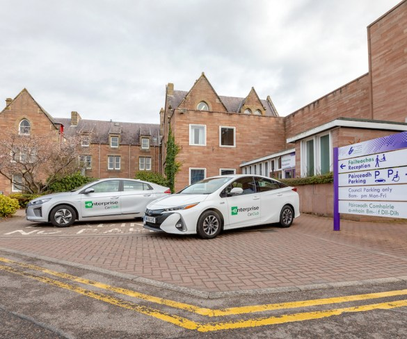 Highland Council reduces its annual business mileage by 800,000 miles with Enterprise