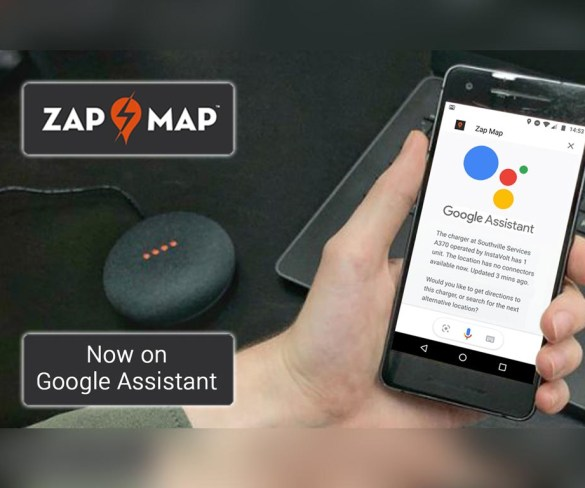 Zap-Map gets free voice activation with Google Assistant