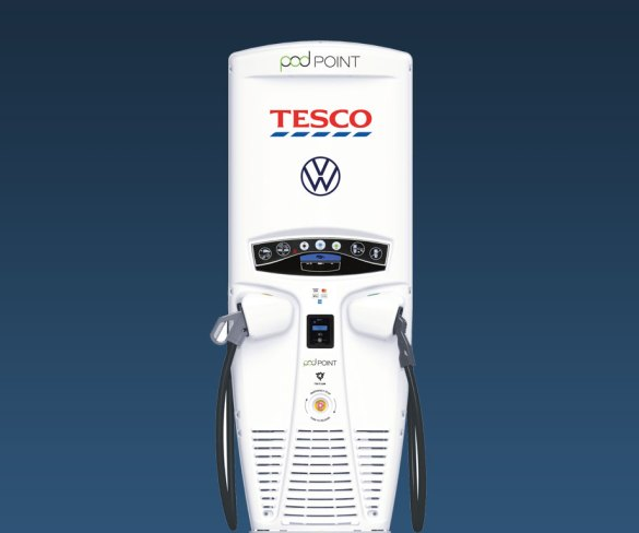 Massive Tesco's charge point rollout goes rapid