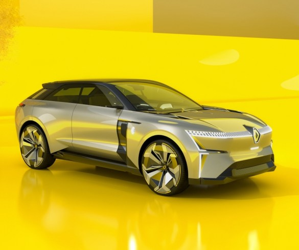 Renault Morphoz concept heralds new family of electric models