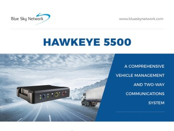 The maker claims it is the first dual-mode vehicle tracking system supporting both Iridium (satellite) and LTE