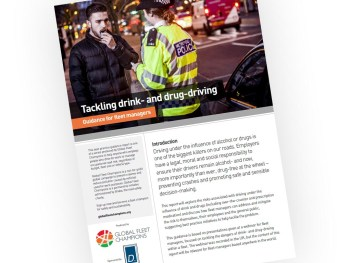 Drink- and drug-driving are on the rise and need to be tackled in fleets, says new Global Fleet Champions campaign