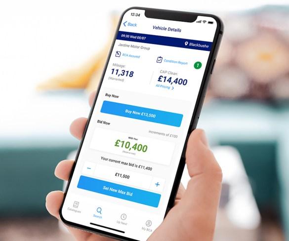 Update to BCA app increases buyer options