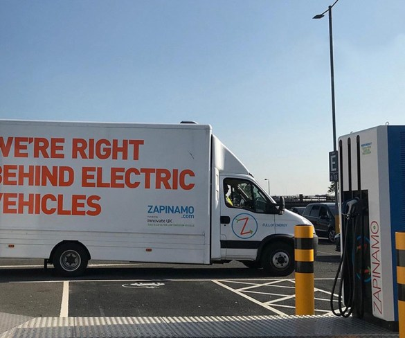 AECOM and Zapinamo launch electric fleet smart charging management system