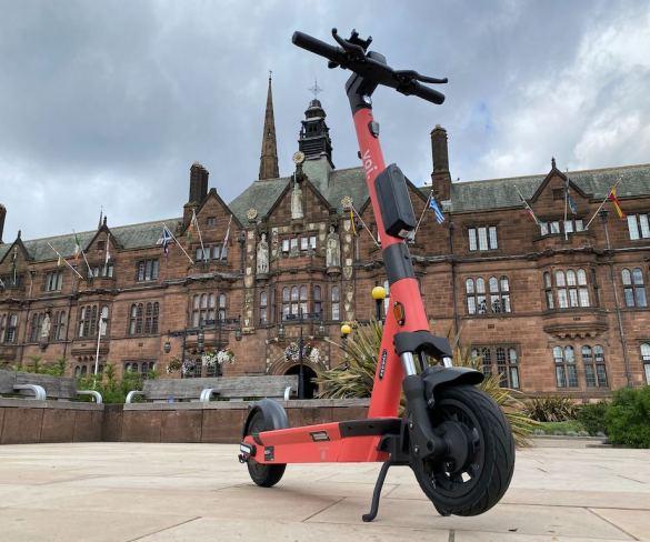 West Midlands e-scooter trial gets underway