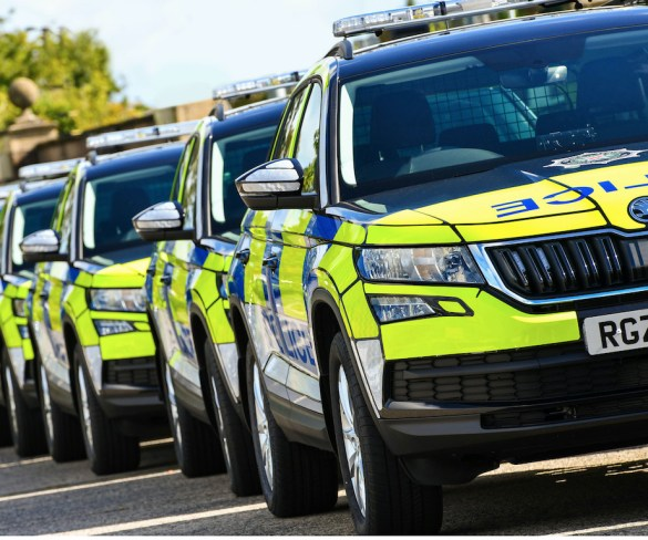 Škoda Kodiaqs bring front-line support for Northern Ireland police service