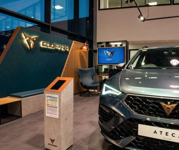 Cupra opens UK dealer network