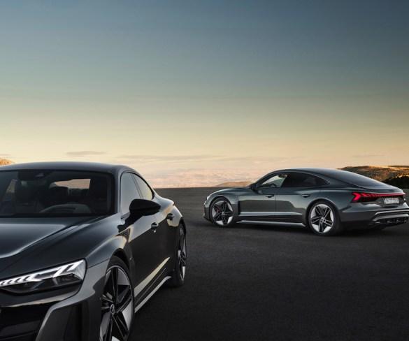 Audi reveals e-tron GT electric saloon