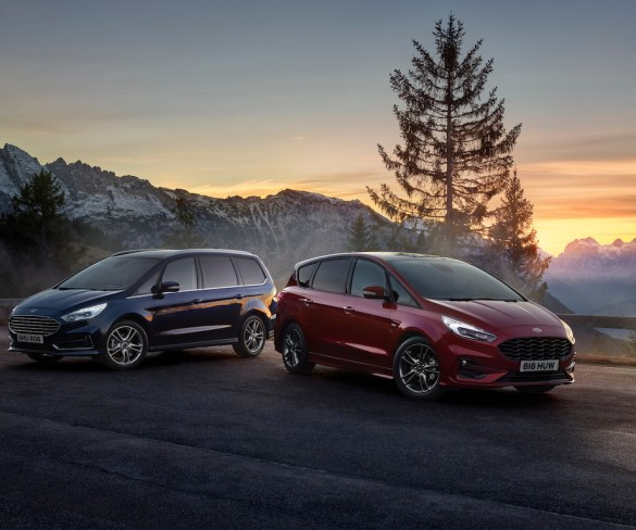 Ford S-Max and Galaxy Hybrids go on sale