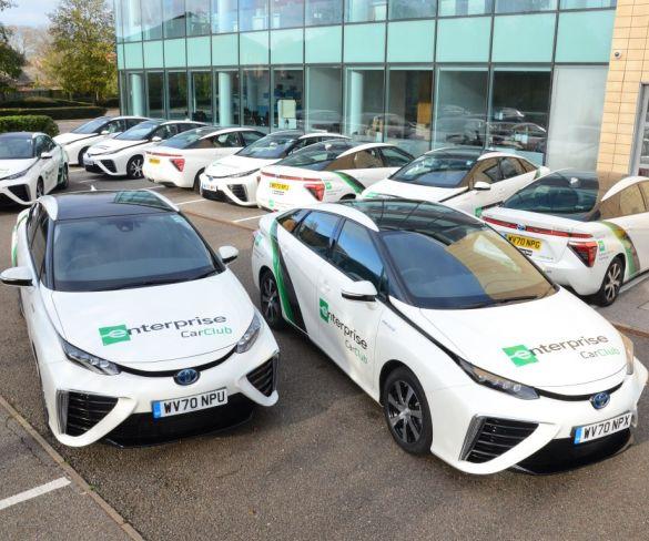 Enterprise adds 17 Toyota hydrogen cars to UK fleet