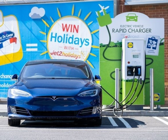 Lidl reaches 100th rapid charger milestone