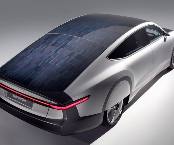 World's first long-range solar electric-powered car to bring 450-mile range