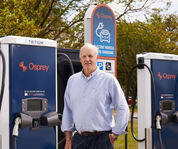 ChargePoint Services founder Alex Bamberg to fast-track growth at Osprey Charging