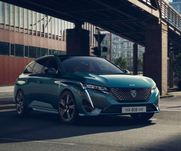 New Peugeot 308 SW gets first-ever plug-in hybrid versions