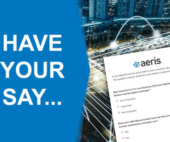 Have your say on the future of fleet telematics