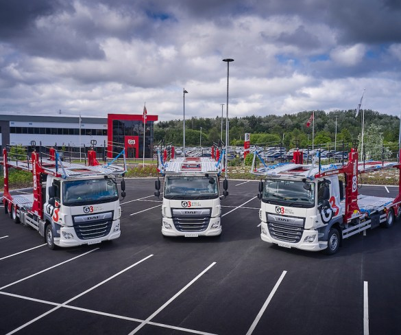 G3 Vehicle Auctions supports expansion plans with new transporter fleet