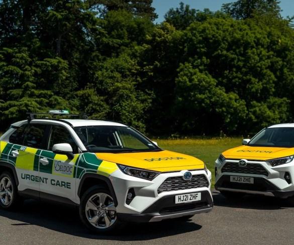 Seldoc Healthcare goes greener with Toyota RAV4s