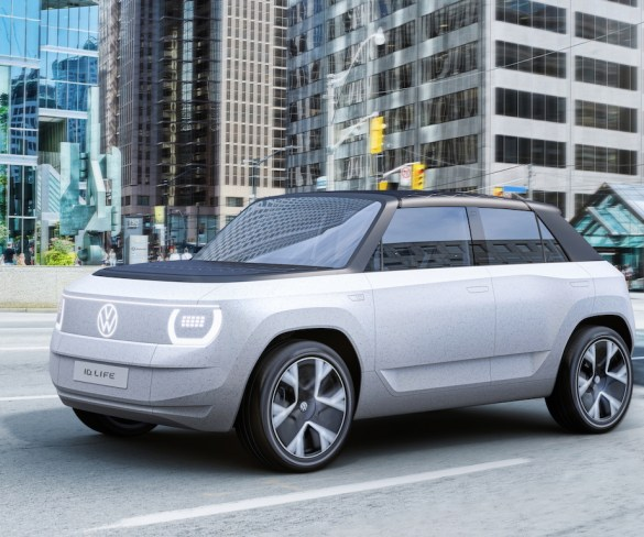 Volkswagen previews sub-£20k small EV with ID. Life reveal