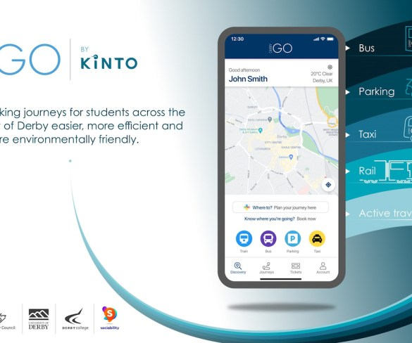 Kinto launches largest and most ambitious MaaS service in UK yet