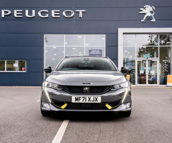 Peugeot delivers first fleet order for low-emission high-performance 508 PSE