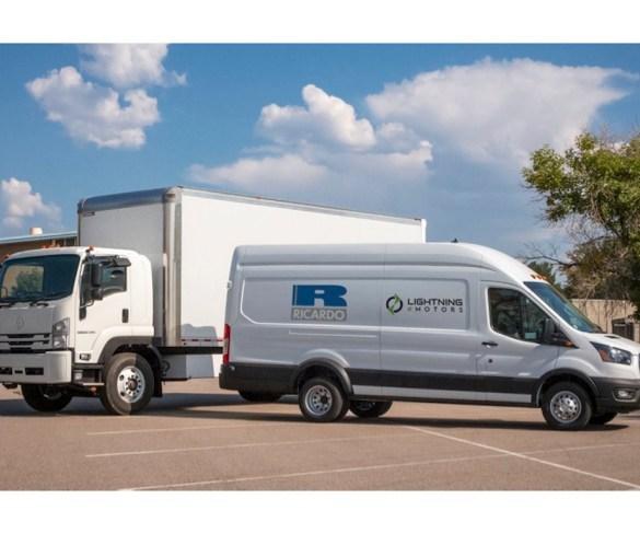 Lightning eMotors and Ricardo team up to bring electric vans to UK fleets