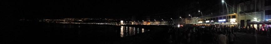 panorama naples night