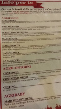 Fattoria Carpineto menu