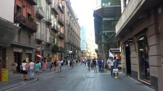 Naples shopping street